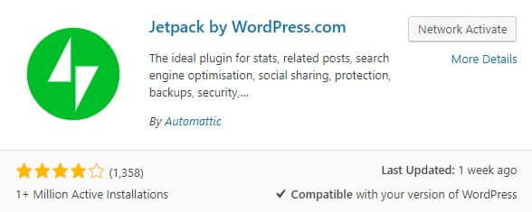 Install wordpress jetpack comments