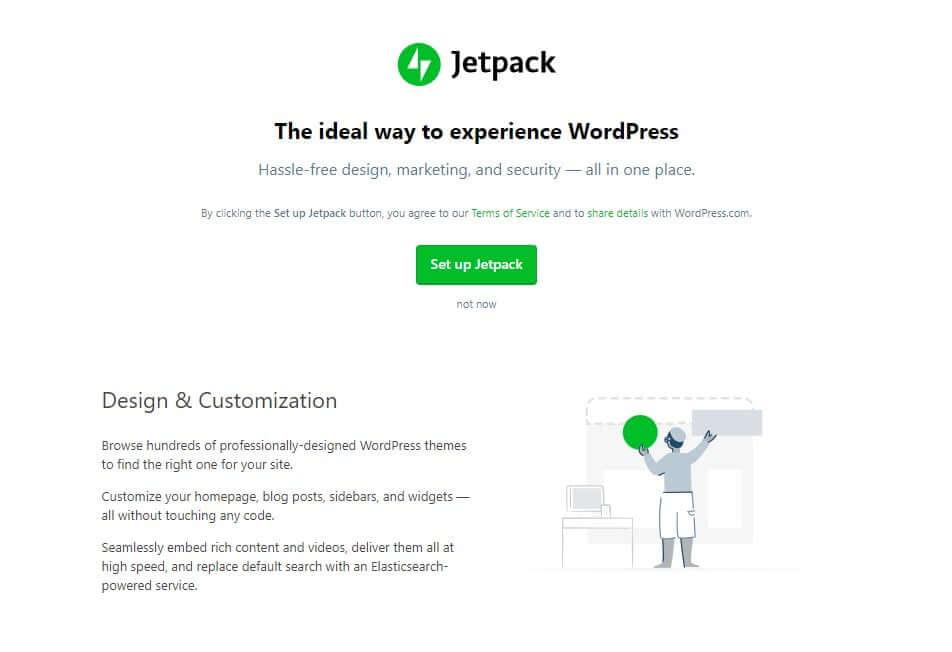 Setup jetpack plugin