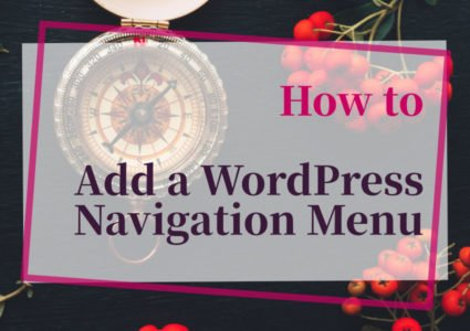 How to add a WordPress navigation menu