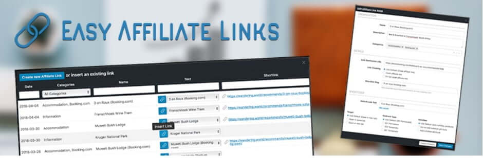 Easy Affiliate Links WordPress plugin