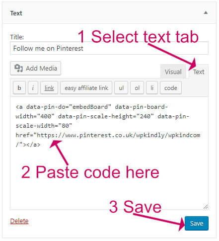 Edit text widget