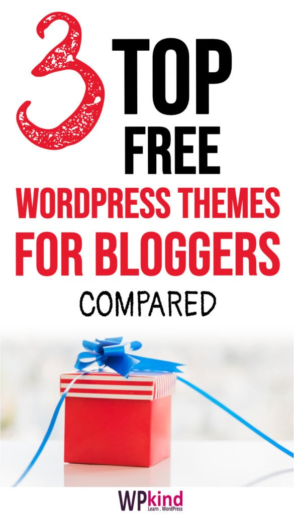 Three of the best free wordpress themes