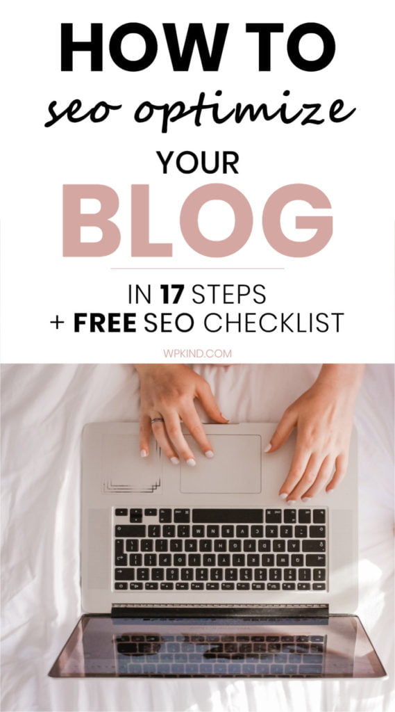 How To SEO Optimize Your Blog
