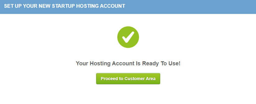 Siteground - hosting ready to use