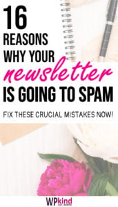 How To Stop Your Newsletters Going To Spam