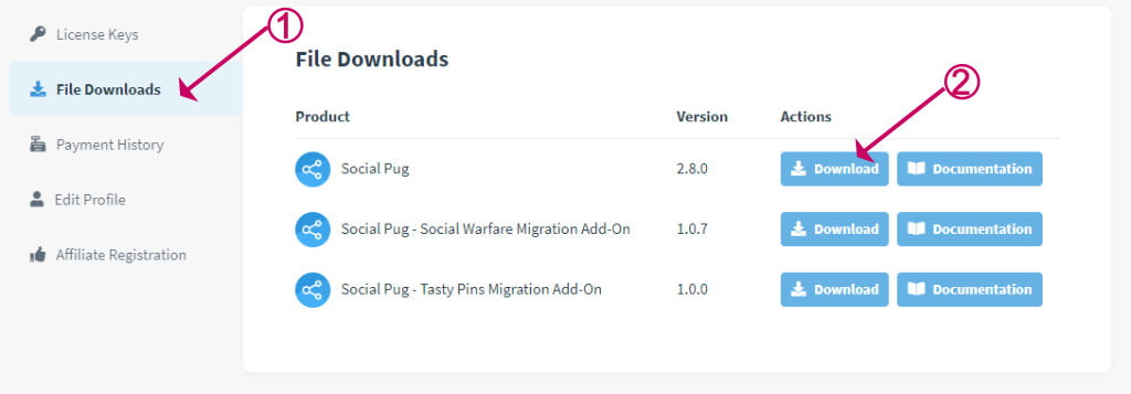 Devpups social pug plugin download