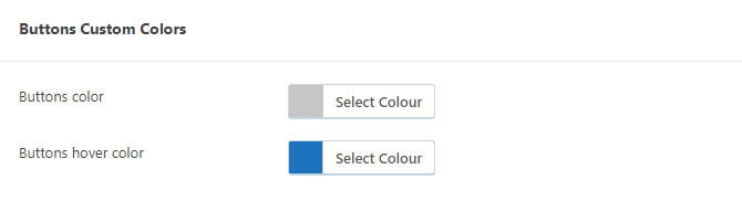 Grow Social Pro custom colours settings