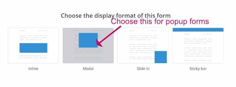 Create a ConvertKit popup opt in.