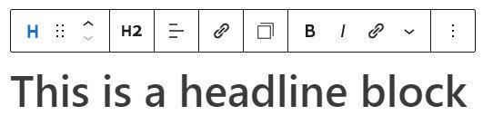 Generateblocks headline block