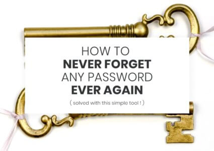 How To Never Forget Passwords