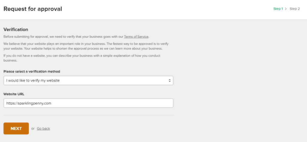 Mailerlite verify website