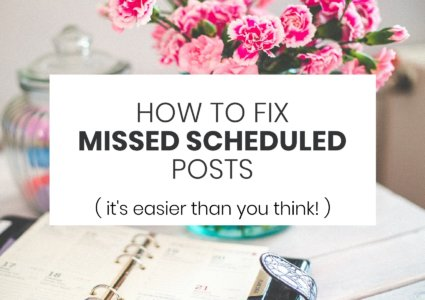 How To Avoid Missed Scheduled Posts